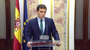 """Rivera: """"Tendremos PGE gracias a los votantes de Cs"""""""
