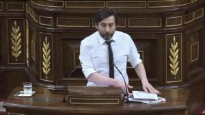 PdeCat abandona el Congreso en solidaridad con Homs