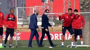 Monchi vuelve al enteramiento del Sevilla
