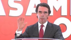 """Aznar reclama """"una segunda vuelta"""" de la reforma laboral"""
