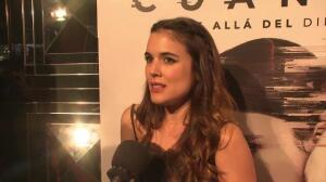 """Adriana Ugarte: """"No soy un palito, porque sufriría"""""""