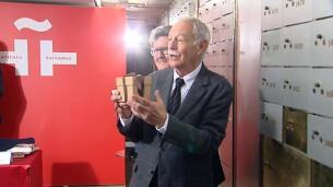 Eduardo Mendoza nos deja su legado en la cámara acorazada del Instituto Cervantes