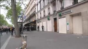 Violenta jornada de reflexión en París