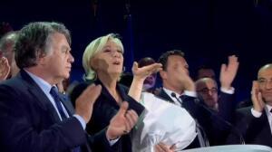 Macron y Le Pen se verán las caras en la segunda vuelta de las presidenciales