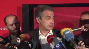 """Zapatero ve """"prejuicios"""" en Cataluña hacia Susana Díaz"""