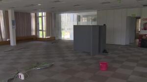 La nueva sede okupada de HSM recibe a cuatro personas