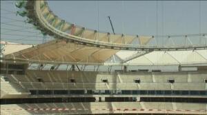 El nuevo estadio del Atlético de Madrid ya va cogiendo forma