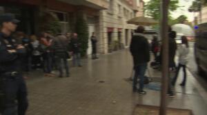 Policía registra el domicilio del expresident catalán Jordi Pujol