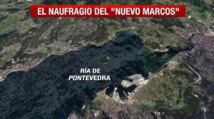Tragedia en la ría de Pontevedra