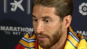 """Sergio Ramos: """"Es un orgullo poder levantar esta Liga"""""""