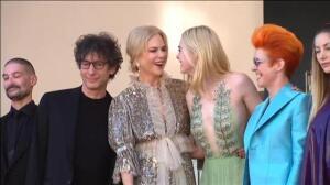 Nicole Kidman y Elle Fanning presentan nueva película en el festival de Cannes