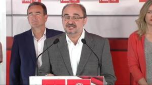 """Lambán: """"Pedro Sánchez cuenta con mi total y absoluta lealtad"""""""