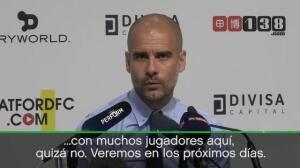 Pep Guardiola y el fichaje de Vinicius por el Real Madrid