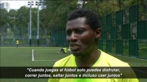 'All Black FC', un equipo de fútbol formado por refugiados que busca abrirse hueco en Hong Kong