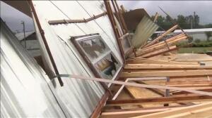 Un espectacular tornado en Carolina del Norte (EEUU) arrasa con lo que se pone en su camino