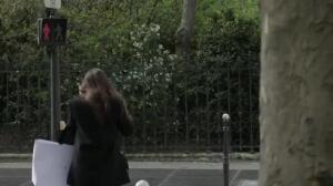 Impactante campaña para peatones en Francia