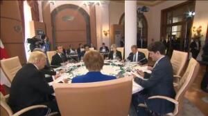 Donald Trump contra el mundo en la cumbre del G7 de Taormina