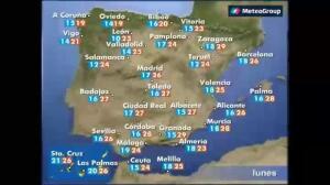Previsión del tiempo para este lunes 29 de mayo