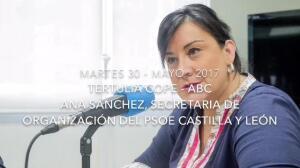 Ana Sánchez reconoce que «no» le gustó el comportamiento con Tudanca de algunos barones