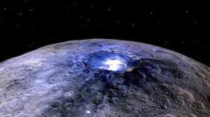 Cráteres conectados por canales en el planeta enano Ceres