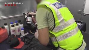 Cae una banda de atracadores que explotaba cajeros automáticos en Cataluña.