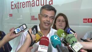 Precandidatura de Vara a seguir liderando PSOE extremeño