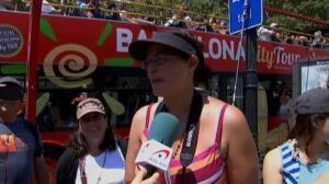 Los turistas que visitan España sufren las altas temperaturas