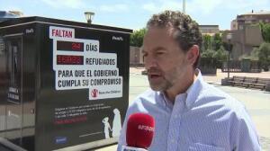 Contador marca refugiados que faltan por llegar a España