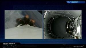 La compañía Space X lanza un cohete con un propulsor reciclado