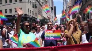 Críticas a Trump en el Orgullo Gay de Nueva York