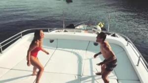El vídeo de Kovacic y su esposa que triunfa en la red