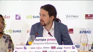 """Pablo Iglesias: """"España es una realidad plurinacional enormemente compleja"""""""