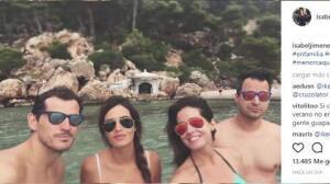 Iker y Sara continúan sus vacaciones en Menorca