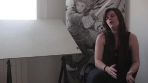 Aneke, una dibujante de cómics que empezó a trabajar directamente en Estados Unidos