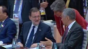 Rajoy habla de inmigración en la cumbre del G20 de Hamburgo