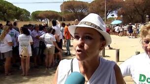 Los afectados por el incendio en el camping Doñana piden ayuda tras perderlo todo.