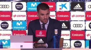 Dani Ceballos presentado con el Real Madrid