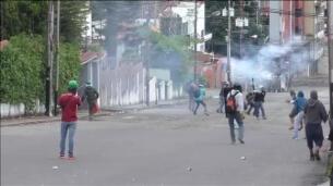 El gran trancazo de Venezuela se salda con 2 muertos y casi 200 detenidos