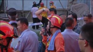 Cinco muertos en un accidente durante la demolición de un edificio en China