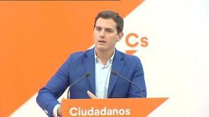 """Rivera: """"Espero que Rajoy diga la verdad y dé explicaciones"""""""