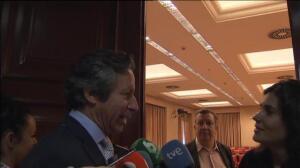 """Floriano cree que Rajoy contestará mañana a todas las preguntas """"porque no tiene nada que ocultar"""""""