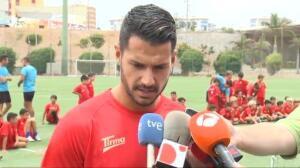 """Vitolo: """"Viera es el jugador clave de este club"""""""