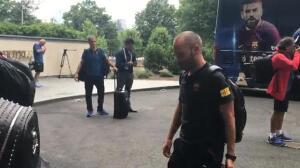 El Barça ya está en Washington con Neymar