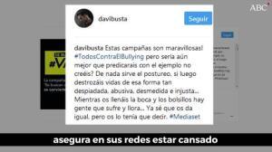 Bustamante explota contra Mediaset