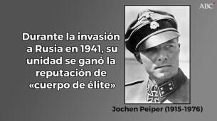 Jochen Peiper: el perfecto héroe de guerra nazi que «masacró» a casi un centenar de prisioneros alia