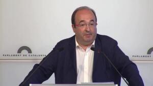 PSC llevará la ley del referéndum al Consell de Garanties