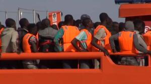 Casi 600 migrantes rescatados cuando trataban de alcanzar las costas españolas