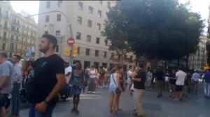 Un atropello arrolla a varias personas en La Rambla de Barcelona