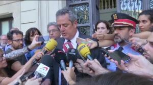 Declaraciones del consejero de Interior de Cataluña tras el atentado en La Rambla