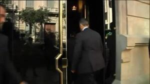 Rajoy se reúne con miembros del Gobierno en Barcelona